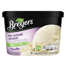 no sugar added vanilla breyers