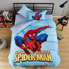 stunning spider sense spiderman bedding