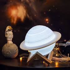 2020 New Arrive 3d Print Saturn Lamp Night Light Like Moon Lamp For Kids Room Night Lamp Rechargeable Light For Space Lover Aliexpress