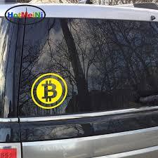 Hotmeini 15 15cm Car Styling Large Bitcoin Cryptocurrency Blockchain Freedom Car Sticker Vinyl Jdm Window Decal Black Sliver Window Decals Car Stylingjdm Style Aliexpress