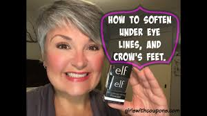 how to soften under eye lines and crow