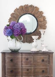 ideas for decorating with round mirrors