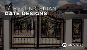 7 Best Nigerian Gate Designs Propertypro Insider In 2020 Gate Designs Modern Gate Design Fence Design