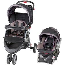 baby trend stroller with car seat ez