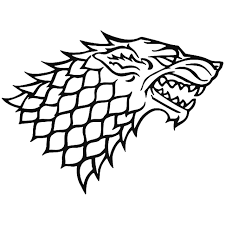 House Stark Game Of Thrones 2 Vinyl Decal Sticker