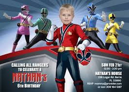 Is Your Little A Fan Of The Power Rangers Power Rangers Birthday