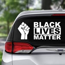 Fist Black Lives Matter Creative Self Adhesive Car Stickers Glass Window Pvc Stickers Car Stickers Funny Car Sticker Maker Decals Stickers Stickers Vinyl Art Wall Stickers Home Decor Geek