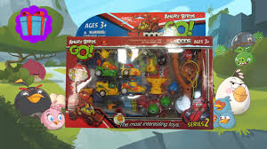 Angry Birds Go Toys! Angry Birds Go Unboxing 2016! - YouTube