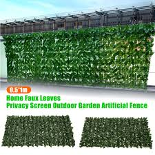 Privacy Screen Uv Protection Outdoor Garden Backyard Home Greenery Wall Gate Decorative Indoor Faux Leaves Greenhouse Artificial Fence Lazada Ph