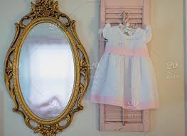 baby girls bedroom eyelet dress