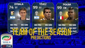 FIFA 15 | TOTS PREDICTION SERIE A! TOTS POGBA TOTS TEVEZ TOTS ...
