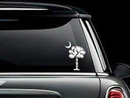 South Carolina Palmetto Tree Vinyl Car Window Decal Bumper Sticker Us Seller Ebay