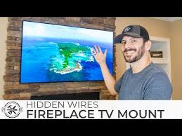 how to mount a tv above a fireplace and