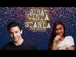 Kupas Tuntas Film Surat Cinta Untuk Starla Bareng Jefri Nichol Caitlin Halderman Youtube