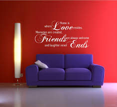 Love Friends Memory Family Wall Quote Phrase Sticker Decal Mural Transfer Wsd507 Ebay