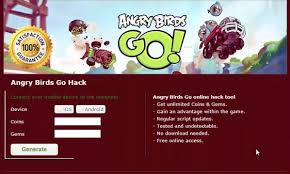 Angry Birds Go Hack and Cheats for Android and IOS Angry Birds Go ...