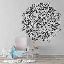 Sacred Geometric Mandala Wall Sticker Kuarki Lifestyle Solutions