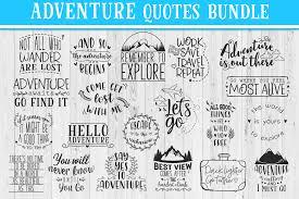adventure quotes bundle travel quotes svg