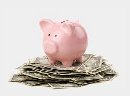 Saving Money Png - Piggy Bank With Money Png, Cliparts & Cartoons - Jing.fm