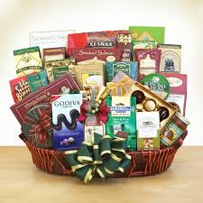 ghirardelli gourmet vip gift basket by
