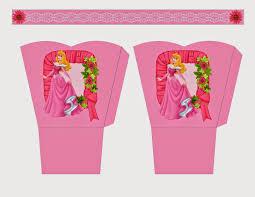 Princesa Aurora Cesta Para Imprimir Gratis Ideas Y Material