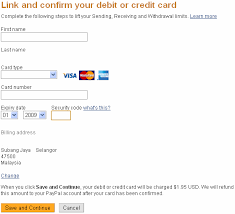 add maybank visa debit card to your