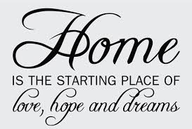 home quotes sayings wall decals stickers home love hope