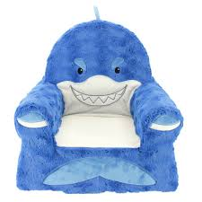 Plush Shark Children S Chair Soft Kids Room Sofa Toddler Small Seat Furniture For Sale Online