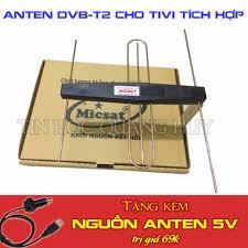 Shop bán Giá sốc Anten DVB-T2 Dunals có mạch khuếch đại tặng cáp nguồn 5v  cho tivi giá chỉ 99.000₫