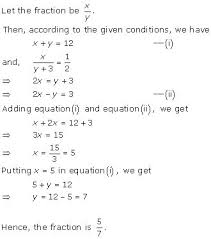 two variables class 10 solutions