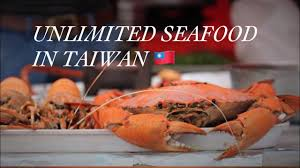 UNLIMITED SEAFOOD IN TAIWAN - YouTube