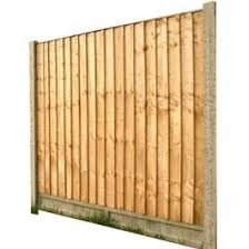 Feather Edge Fence Panel H 6 X W 6 Fence Panels Feather Edge Fence Panels Fence