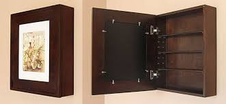 recessed medicine cabinets with picture