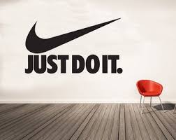 Just Do It Decal Etsy