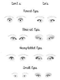 corrective makeup for diffe eye shapes