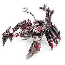 746 Cái/bộ 3D Kim Loại Đồ Chơi Xếp Hình Tự Làm Chiến Đấu Bọ Cạp Mô Hình  Robot Lắp Ráp Bộ Dụng Cụ Mô Hình Ghép Hình Xây Dựng Đồ Chơi Trang