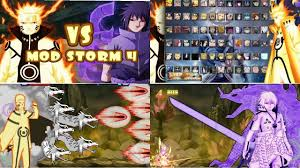 NEW UPDATE! Bleach VS Naruto 3.3 MOD STORM 4 ALL NARUTO CHARACTERS {DOWN...  in 2020 | Game app, Naruto, Naruto characters