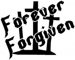 Forever Forgiven 3 Crosses Decal Car Or Truck Window Decal Sticker Or Wall Art All Time Auto Graphics