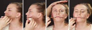 how to apply makeup liquid latex