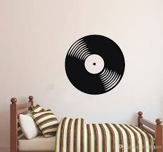 Wall Decal Vinyl Sticker Vinyl Record Cd Retro Classical Music House Home Living Room Art Decoration Removable Poster Wall Phrases Stickers Wall Quote Decals From Joystickers 14 2 Dhgate Com