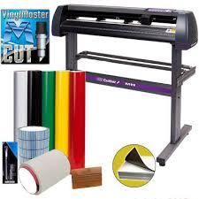 34 Uscutter Vinyl Cutter Plotter Sign Cutting Machine W Software Supplies Ebay