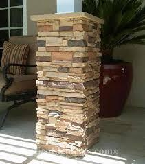 Faux Stone Post Wraps Stone Porch Column Covers Antico Elements
