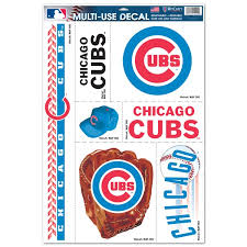 Chicago Cubs Car Decals Decal Sets Cubs Car Decal Shop Cbssports Com