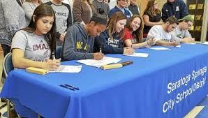 Saratoga Springs athletes Geils, Green, Inzana, Kelly, Smith ...