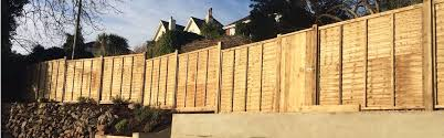 Fencing Panels Posts Panels And Featheredge Devon And Cornwall