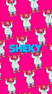 wallpaper sheky