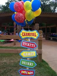 carnival birthday party ideas photo 1