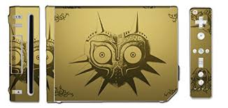 Majora S Mask Special Edition Legend Of Zelda Video Game Vinyl Decal Skin Sticker Cover For The Nintendo Wii System Console Wantitall