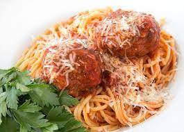 My Favorite Classic Italian Spaghetti and Meatballs Recipe - Chef ...