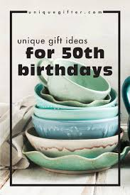 birthday gift ideas for 50th birthdays